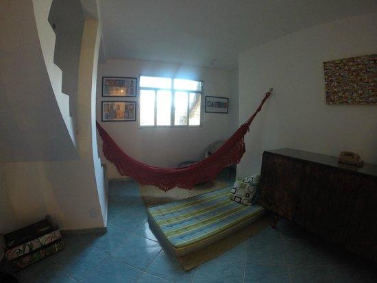 Abraco Carioca- Favela hostel: Inside the top room
