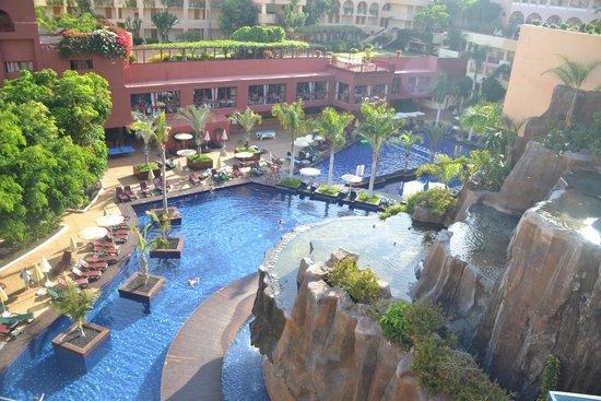 Hotel Best Jacaranda : Piscina vista dal 5° piano