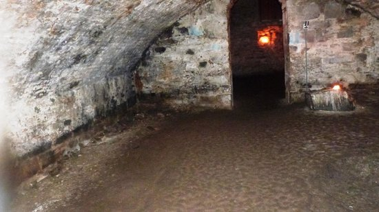 Mercat Tours : Blair Street Underground Vaults, sadly saw no ghosts