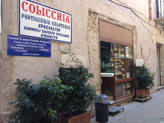 Pasticceria Colicchia: Granite superlative!