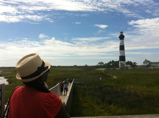 Bodie Island Lighthouse : Beutiful light house