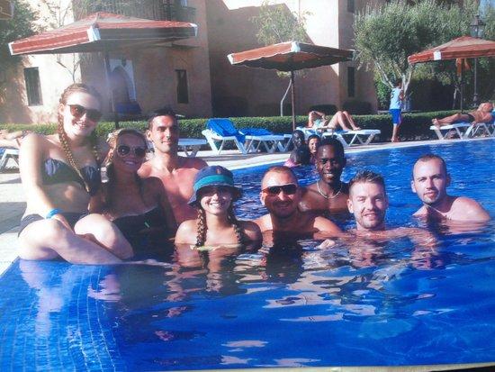 Marrakech Ryads Parc & Spa : Friends we met