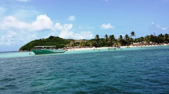 Pinel Island: Islet Pinel for the day