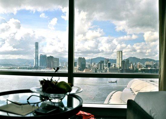 Grand Hyatt Hong Kong: Vue de la chambre, etage 28