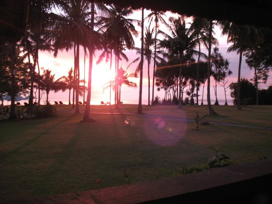 The Oberoi, Lombok: Sunset at the Oberoi