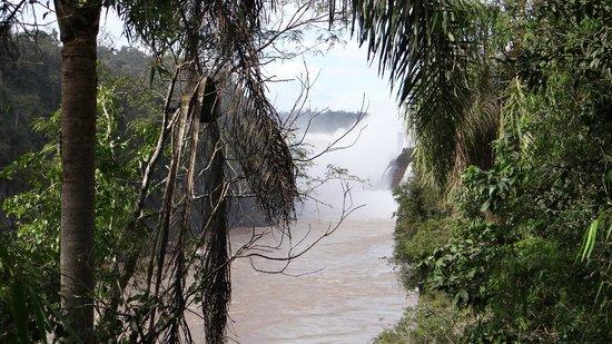 Cataratas del Iguazú: Las primeras vistas