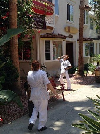 The Hotel California: Personable and fun maid staff who did such a great job keeping things in good shape!