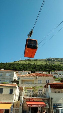 Dubrovnik Walks: The cablecar is a must.