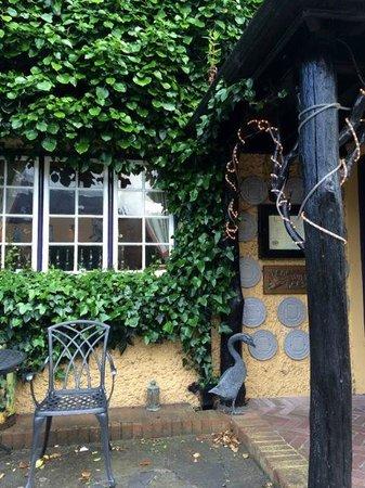 Wild Geese Restaurant: By the front door