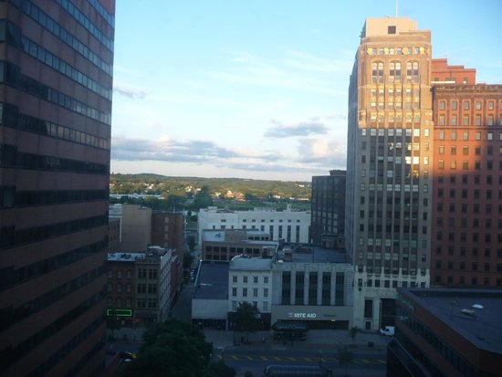Hilton Albany: View from 8th floor room