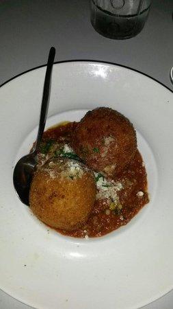La Vela Restaurant : My fav. Best Arancini balls ever.