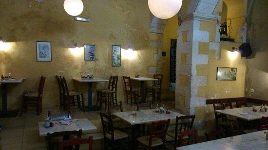 Tamam Restaurant : main area