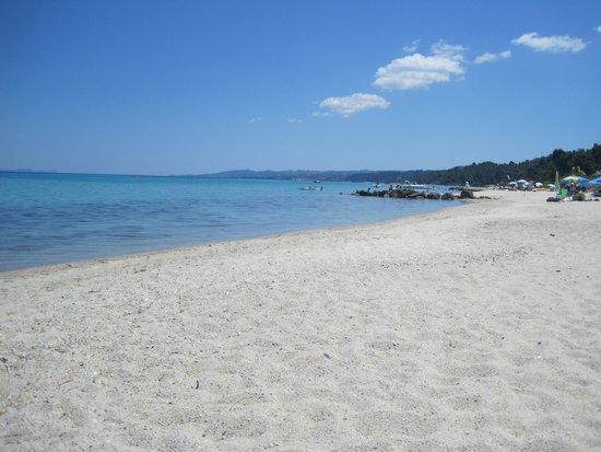Macedonian Sun Hotel: пляж