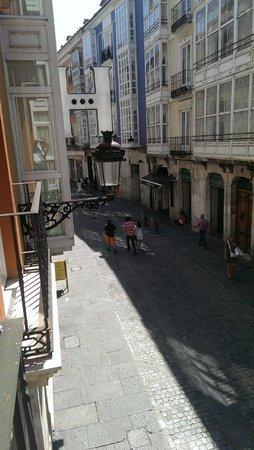 Hotel Centro Los Braseros: Calle San Juan