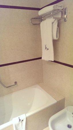 Hotel Centro Los Braseros: Baño