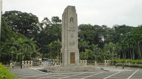 Centre ville de Kuala Lumpur : Il Cenotaffio della grande guerra