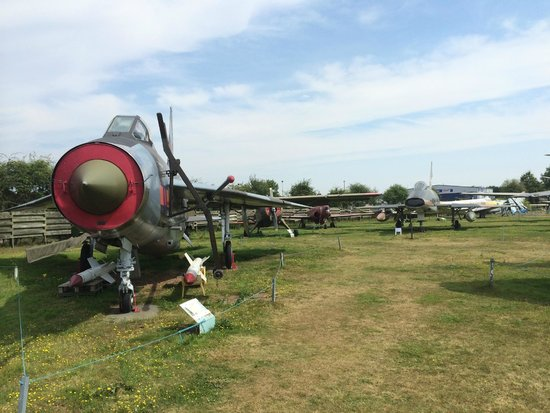 Midland Air Museum : Just a few of the many aircraft