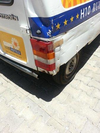 H10 Rubicón Palace: L'état du véhicule est à l'image de l'hôtel