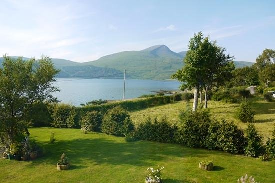 Pennyghael Hotel Restaurant: the view from our window