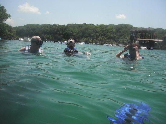 BlueBay Grand Esmeralda: parc aquatique Xel-Ha