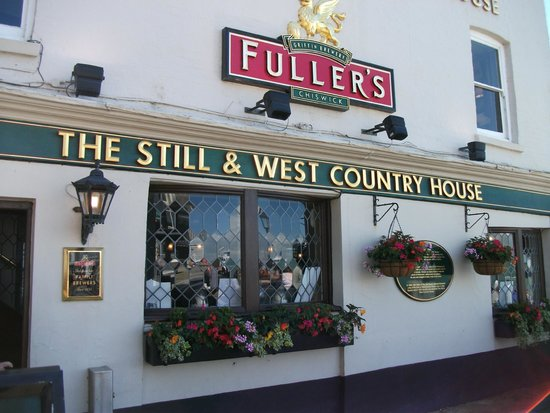 The Still & West: Pub frontage