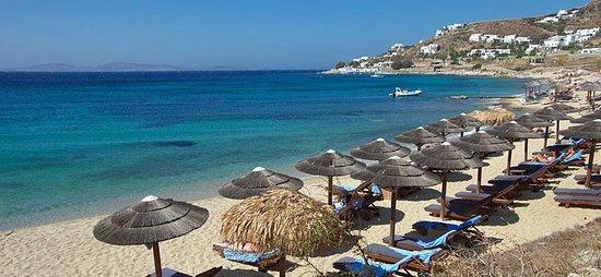 Giannoulaki Hotel: spiaggia di Paraga