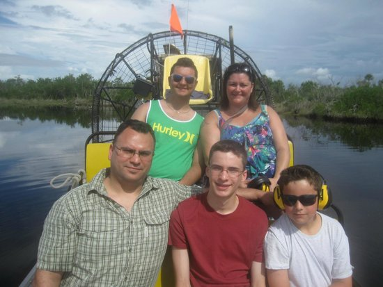 Speedy's Airboat Tours : da fam
