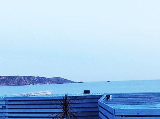 Oyster Box Beach Bar & Restaurant : view