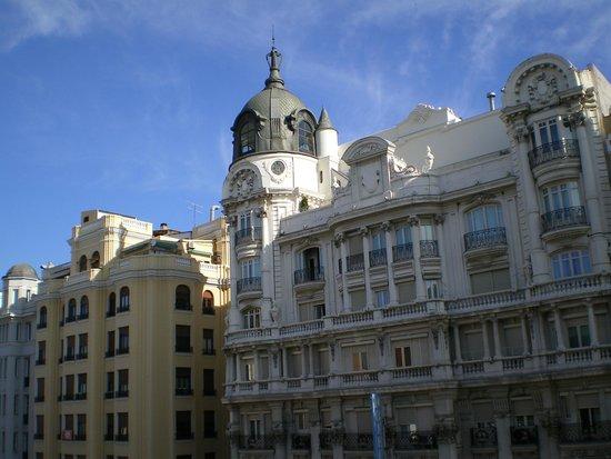 Regente Hotel : Desde la habitacion !
