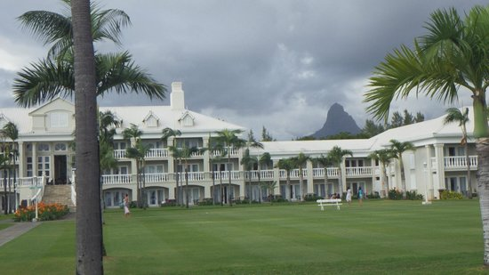 Sugar Beach Mauritius : le bâtiment central
