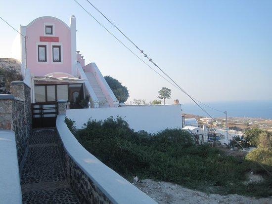 Nectarios Villa: Flott inngangsparti.