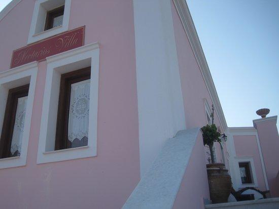 Nectarios Villa: Suiten fra utsiden.