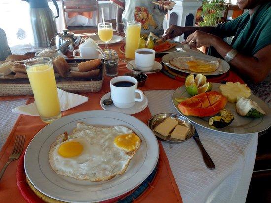 Baobab: petit déjeuner copieux