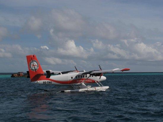 Velidhu Island Resort : Sea plane