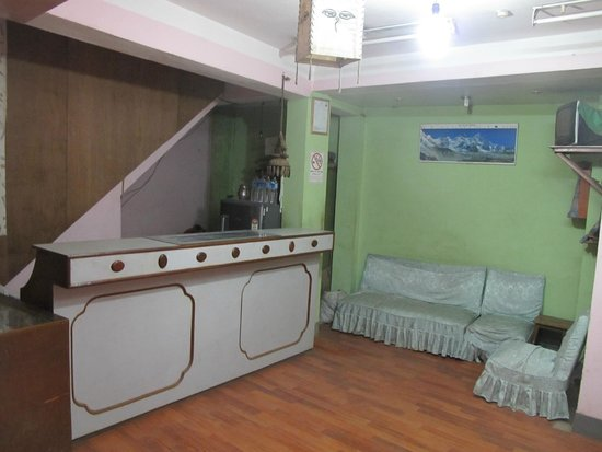 Nepa Guest House: Стойка рисепшена