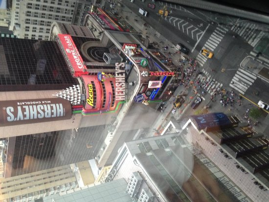 Renaissance New York Times Square Hotel: Day view, night is better