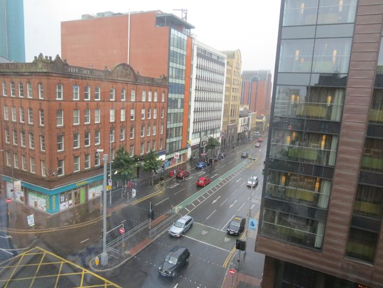 Jurys Inn Belfast : View From the room