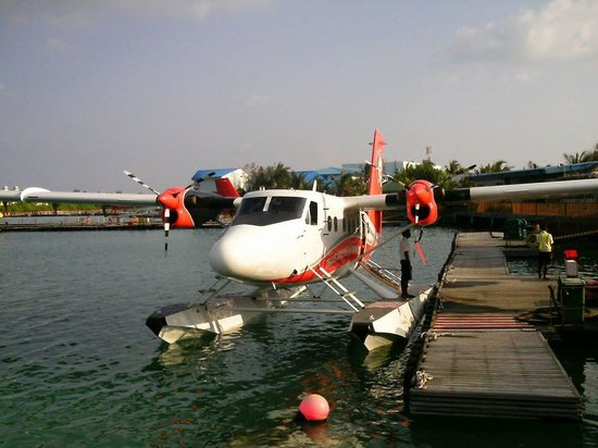 Adaaran Select Meedhupparu : Our seaplane