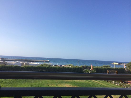Club Marmara Marina Beach : Vu depuis notre chambre vue sur mer