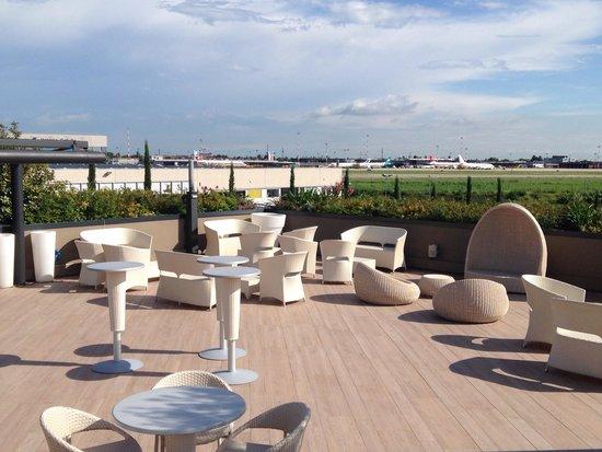 DB Hotel Verona Airport and Congress: Terrazza dell hotel