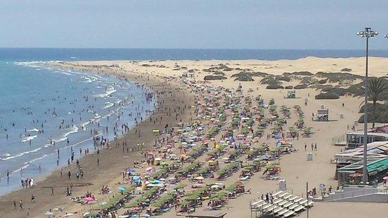 IFA Buenaventura Hotel: La plage et les dunes a 5 min de l hotel