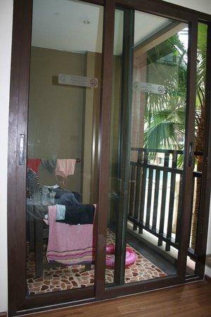 Novotel Phuket Vintage Park: le balcon