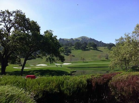 CordeValle, A Rosewood Resort: View of golf course from 19th hole