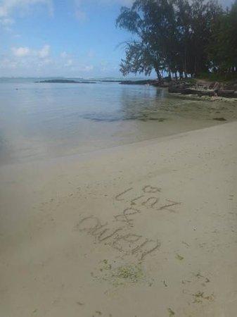 Ambre Resort & Spa : beautiful beach
