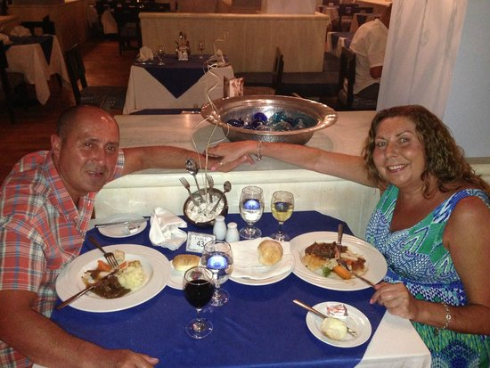 The Grand Hotel Sharm El Sheikh: Dining at Fusion