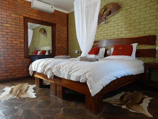Kalahari Anib Lodge: Una camera da letto