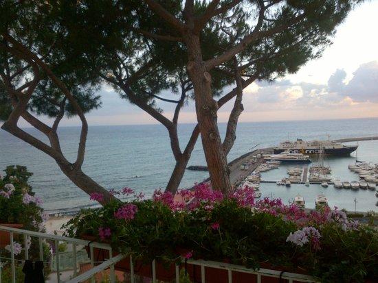 Gran Paradiso Hotel: vista sul mare e sul porto