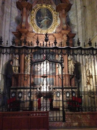 Catedral de Mallorca: Beautiful artwork.