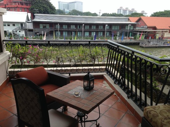 Casa del Rio Melaka: View from room balcony