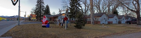 Mountain View Motel and Campground : Christmas Time in At the Mountain View Motel Buffalo WY
